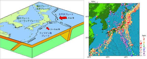 プレート 日本 地震 地震は世界各地で 地球を覆う10超のプレート 災害列島
